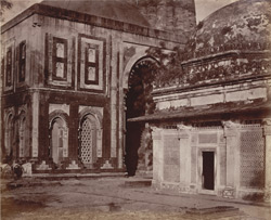 The Kootub [Delhi]. Marble Tomb and Gateway on the south side.